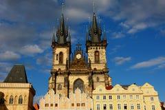 Catedral em Praga 2011, república checa Imagem de Stock Royalty Free