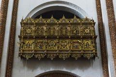 A catedral em Roskilde, Dinamarca foto de stock