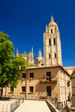 Catedral em Segovia foto de stock