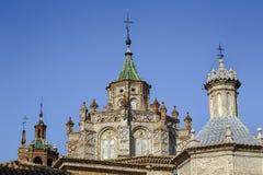 Catedral em Teruel, Aragon, Espanha Fotografia de Stock