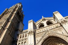 Catedral em Toledo Fotografia de Stock Royalty Free
