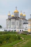 Catedral em Vladimir, Rússia de Dormition Foto de Stock Royalty Free