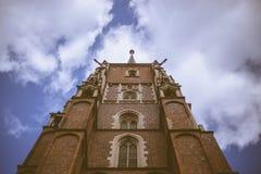 Catedral em Wroclaw, Polônia Fotografia de Stock Royalty Free