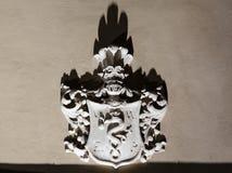 Catedral emblem royaltyfria foton