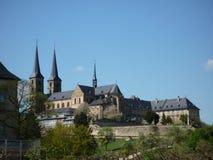 Catedral en Bamberg Imágenes de archivo libres de regalías