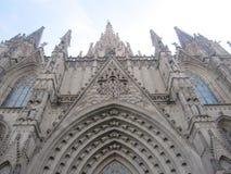 Catedral en Barcelona Imagen de archivo