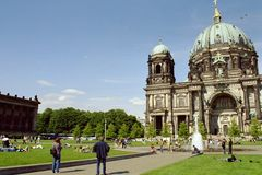 Catedral en Berlín Imagen de archivo