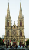 Catedral en China imagen de archivo