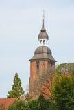 Catedral en Cloppenburg, Alemania fotografía de archivo