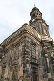 Catedral en Dresden imagen de archivo