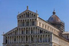 Catedral en el dei Miracoli de la plaza en Pisa Foto de archivo