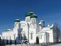 Catedral en el monasterio del hombre de Raifsky Imagen de archivo libre de regalías