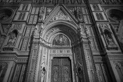 Catedral en Florencia, Italia Imagen de archivo libre de regalías