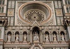 Catedral en Florencia, Italia Fotos de archivo