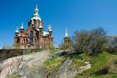 Catedral en Helsinki Imagenes de archivo