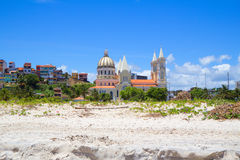 Catedral en Ilheus brazil foto de archivo libre de regalías