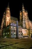 Catedral en invierno Imagen de archivo