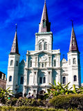 Catedral en Jackson Fotografía de archivo