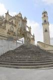 Catedral en Jerez Fotos de archivo libres de regalías