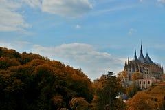 Catedral en Kutna Hora - protegido por la UNESCO imagenes de archivo
