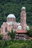 Catedral en la ciudad de Veliko Tarnovo Foto de archivo libre de regalías