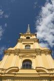 Catedral en la fortaleza de San Pedro y de Paul Foto de archivo libre de regalías