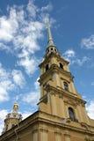 Catedral en la fortaleza de San Pedro y de Paul Foto de archivo