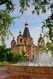 Catedral en la región de Smolensk Foto de archivo libre de regalías