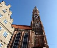 Catedral en Landshut. Fotografía de archivo libre de regalías