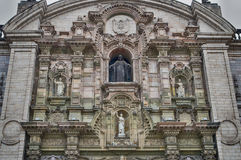 Catedral en Lima imagen de archivo