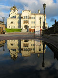 Catedral en los nombres de todos los santos Imagenes de archivo