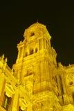 Catedral en Málaga, España Fotografía de archivo