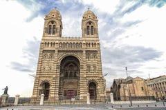 Catedral en Marsella, Francia Foto de archivo libre de regalías