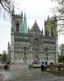 Catedral en Noruega Foto de archivo