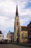 Catedral en Novi Sad, Serbia Foto de archivo libre de regalías