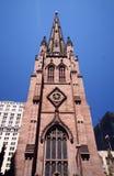 Catedral en Nueva York Foto de archivo libre de regalías