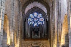 Catedral en Oporto Foto de archivo