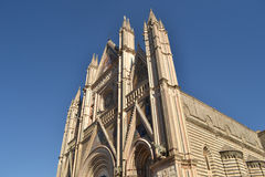 Catedral en Orvieto - Italia Imagenes de archivo