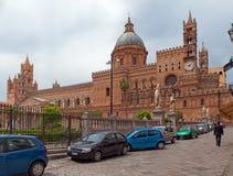Catedral en Palermo Imágenes de archivo libres de regalías