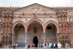 Catedral en Palermo Foto de archivo