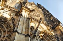 Catedral en Praga Imágenes de archivo libres de regalías