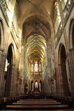 Catedral en Praga imagen de archivo