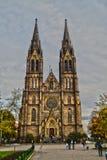 Catedral en Praga Imagen de archivo libre de regalías