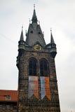 Catedral en Praga Imagenes de archivo