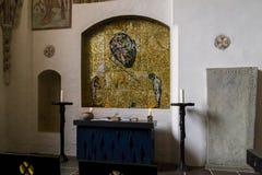 Catedral en Roskilde, Dinamarca Fotos de archivo