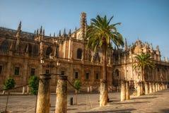 Catedral en Sevilla, España Foto de archivo