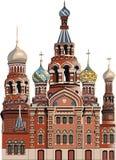 Catedral en St Petersburg Fotografía de archivo libre de regalías