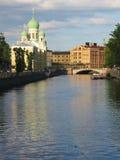 Catedral en St Petersburg, Rusia Imagen de archivo libre de regalías