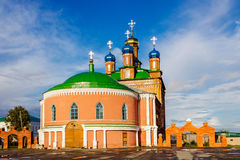 Catedral en usolye Foto de archivo libre de regalías