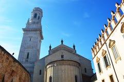 Catedral en Verona, Italia Imagen de archivo